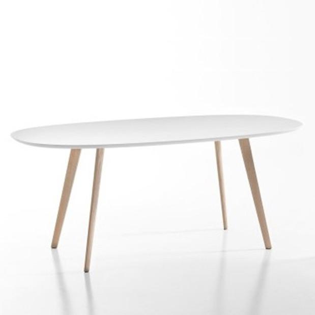 Gher ovaler tisch von arper for Tisch oval design