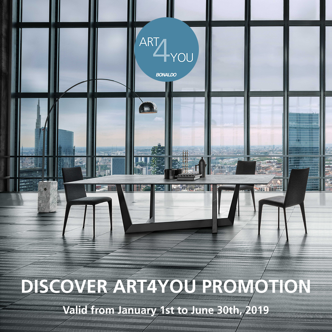 Art promotion set by bonaldo for Horm arredamenti