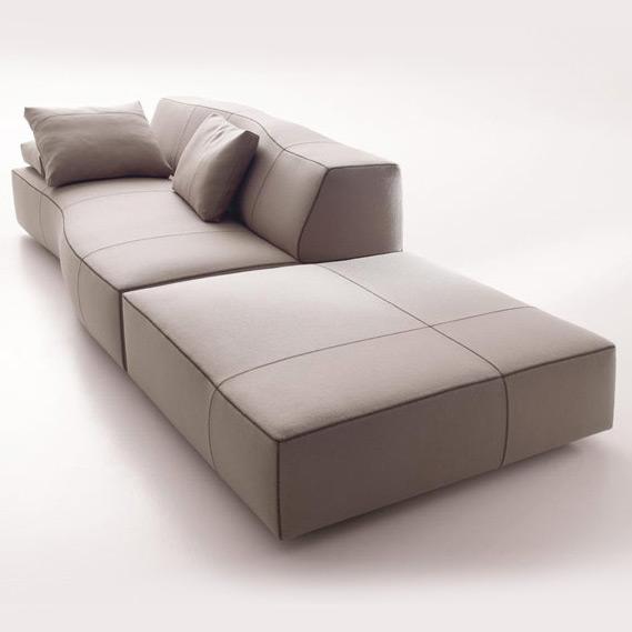 Sofaserie bend sofa von b b italia for B6b italia