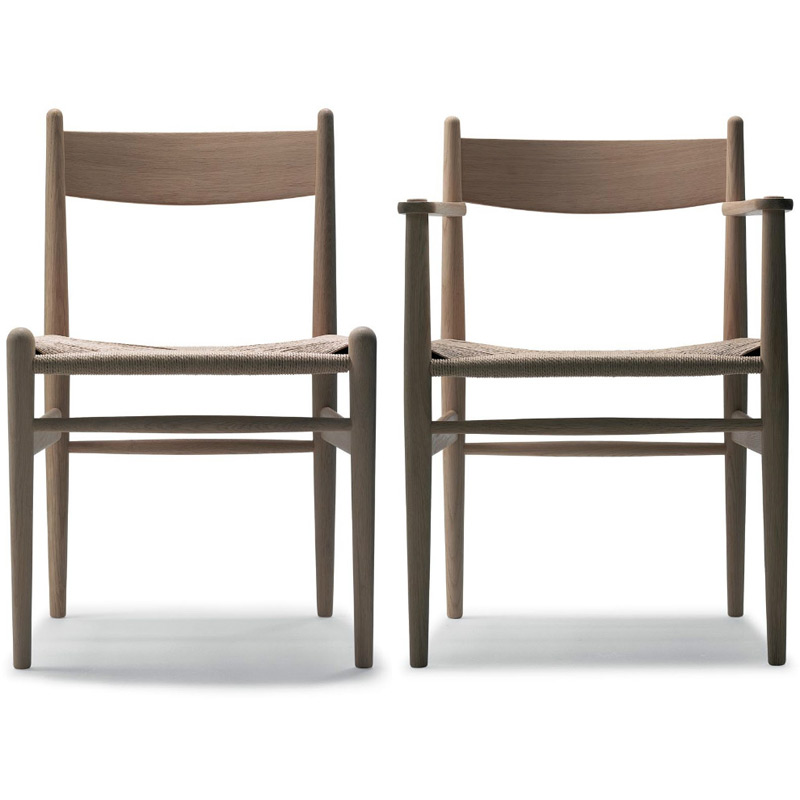 chair ch36 armchair ch37 by carl hansen. Black Bedroom Furniture Sets. Home Design Ideas