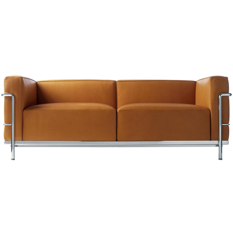 sofa lc3 von cassina. Black Bedroom Furniture Sets. Home Design Ideas