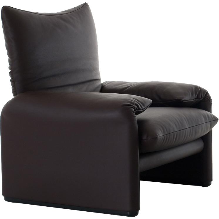 sessel maralunga von cassina. Black Bedroom Furniture Sets. Home Design Ideas