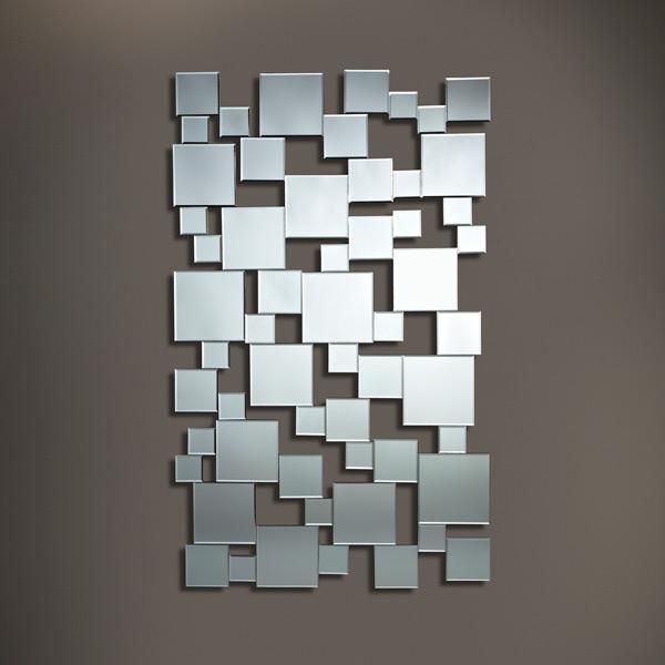 Pixels pfiffiger wandspiegel von deknudt mirrors for Design spiegels woonkamer
