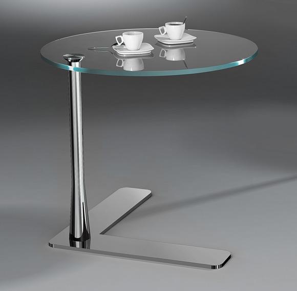 beistelltisch fado von dreieck design. Black Bedroom Furniture Sets. Home Design Ideas