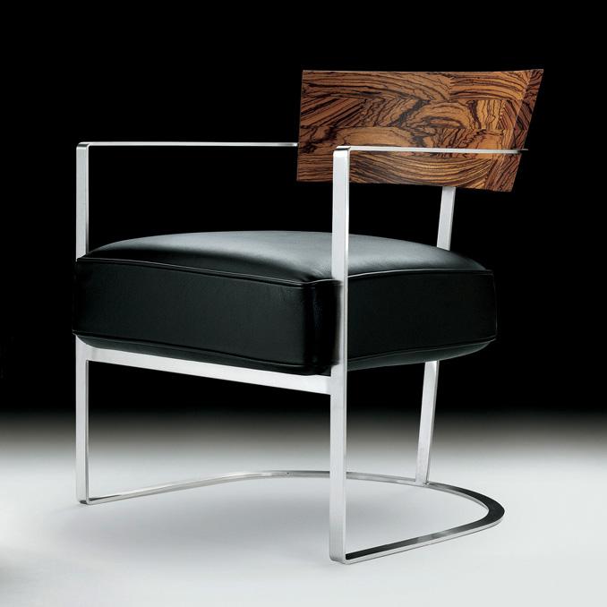 Armchair And Stool Morgan Von Flexform