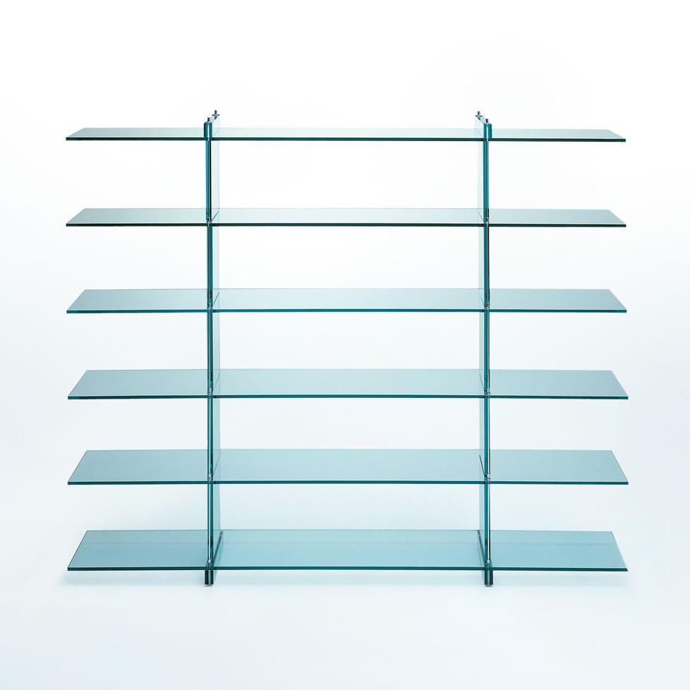 teso libreria glasregal von fontanaarte. Black Bedroom Furniture Sets. Home Design Ideas