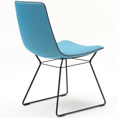 stuhl amelie basic mit metallgestell von freifrau. Black Bedroom Furniture Sets. Home Design Ideas