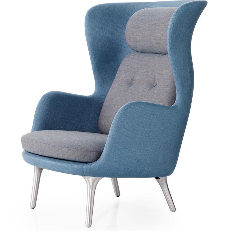 sessel ro von fritz hansen. Black Bedroom Furniture Sets. Home Design Ideas