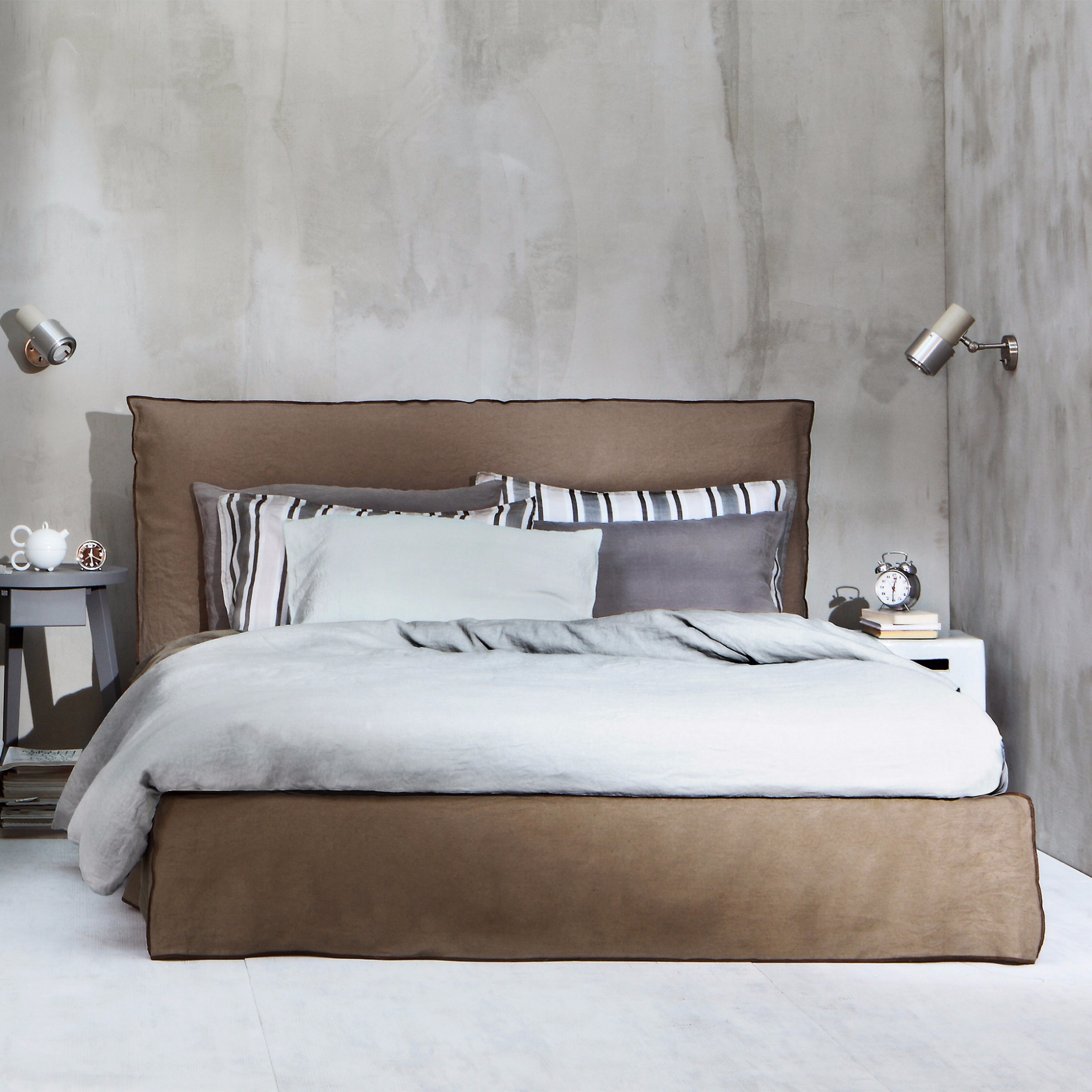 Polsterbett ghost 80 e von gervasoni for Bett scandinavian design