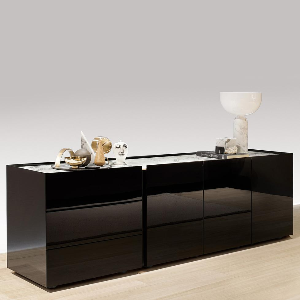 sideboard kollektion jorel von interl bke. Black Bedroom Furniture Sets. Home Design Ideas