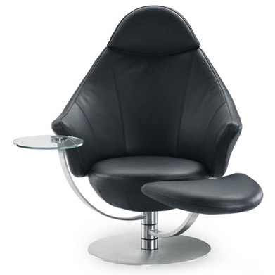Relaxsessel satellite von ipdesign for Relaxsessel modern design