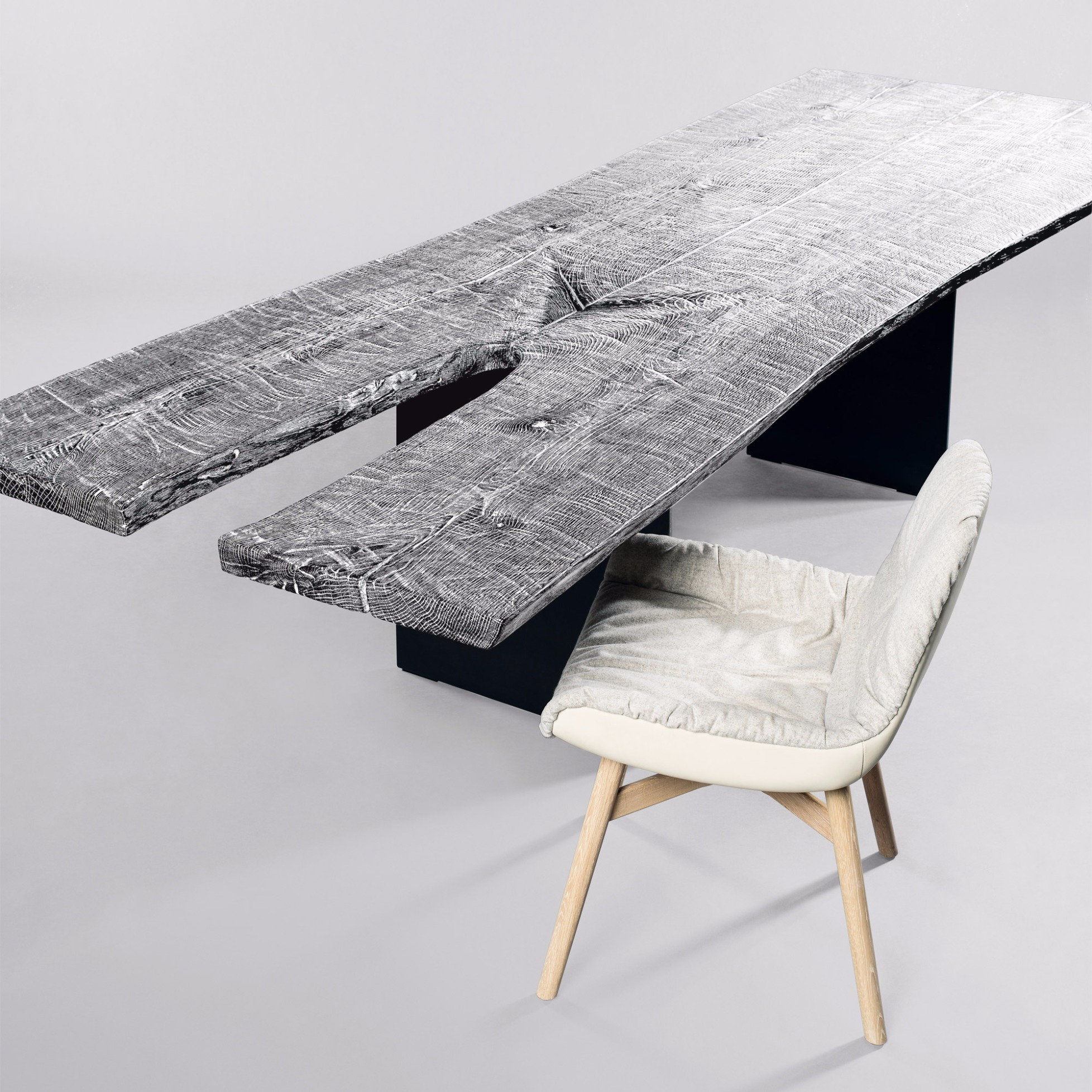 table sk 08 butterfly open light by janua. Black Bedroom Furniture Sets. Home Design Ideas
