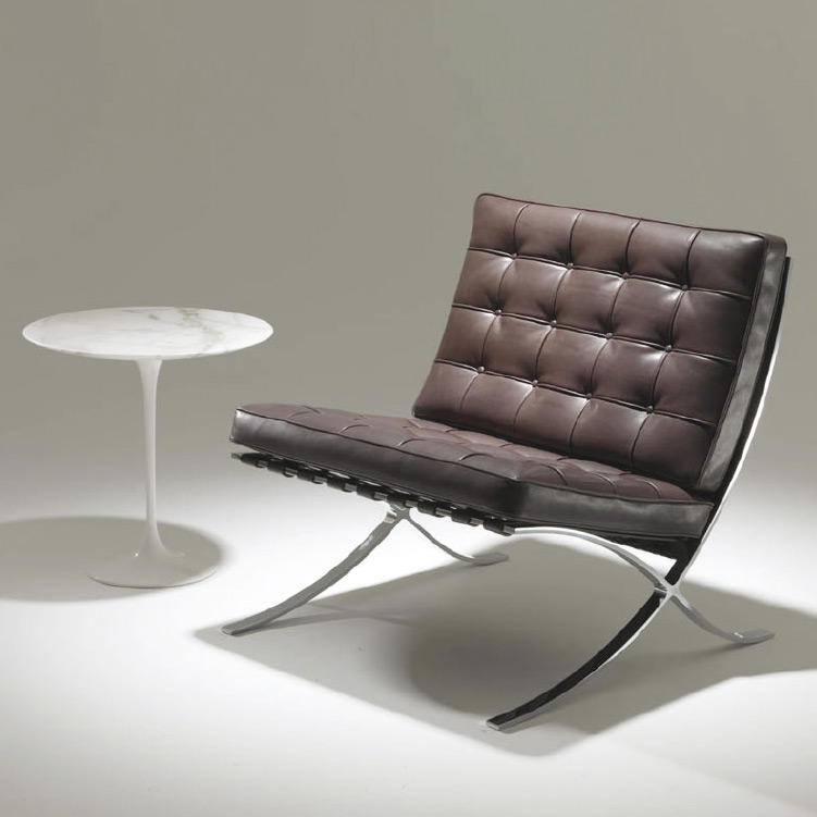 Barcelona Chair New Comfort By Knoll International