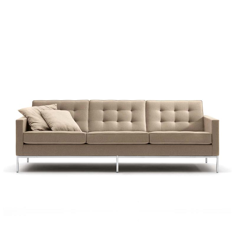 knoll florence sofa florence knoll relaxed sofa hivemodern thesofa. Black Bedroom Furniture Sets. Home Design Ideas