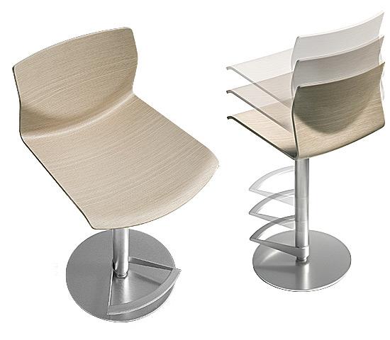 bar stool kai by lapalma. Black Bedroom Furniture Sets. Home Design Ideas
