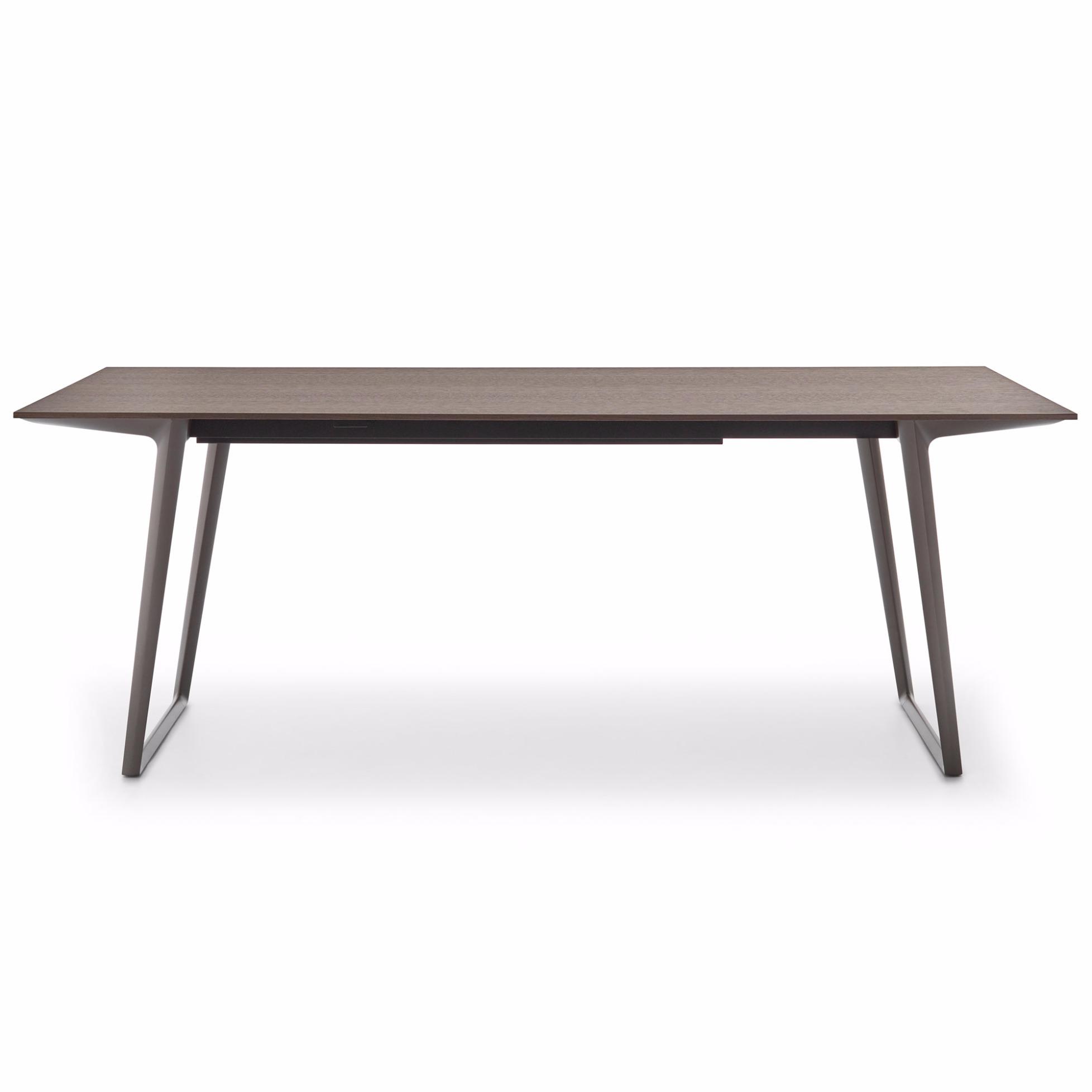 Tisch Axy Von Mdf Italia Mit Eichenplatte