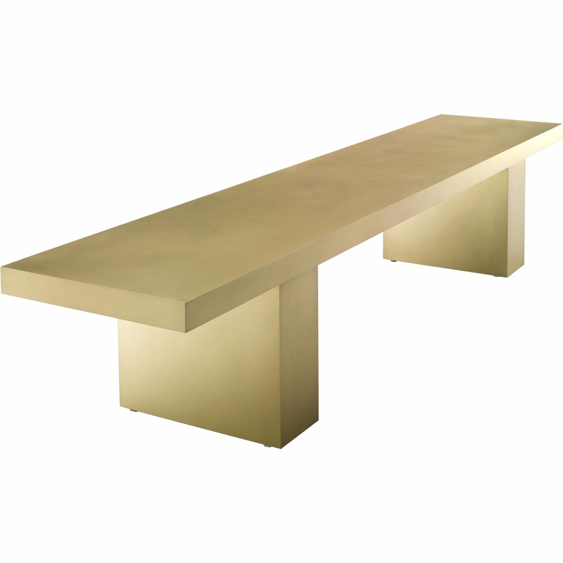 Bench Link 2 Brass By Mdf Italia