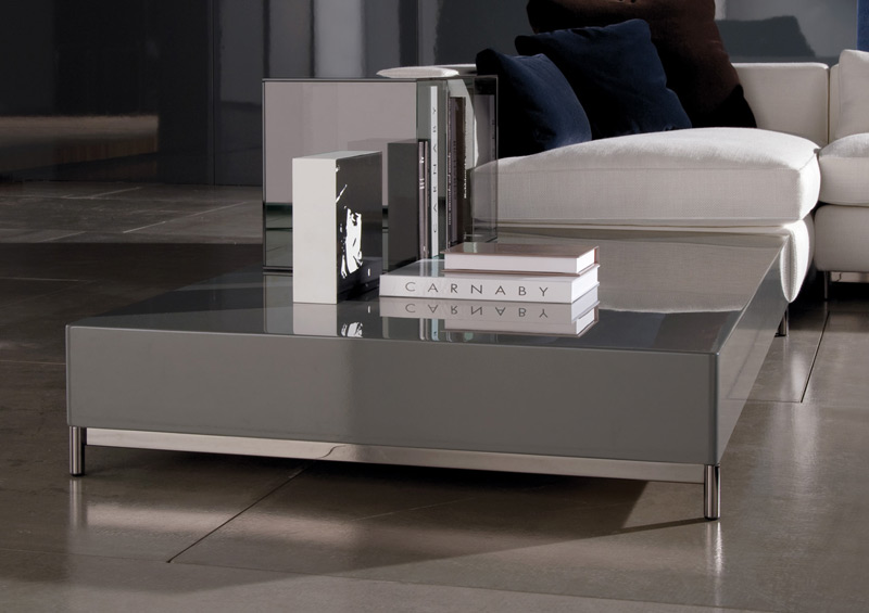 coffee table albers by minotti. Black Bedroom Furniture Sets. Home Design Ideas