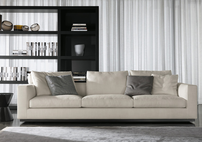 sofa andersen line by minotti. Black Bedroom Furniture Sets. Home Design Ideas