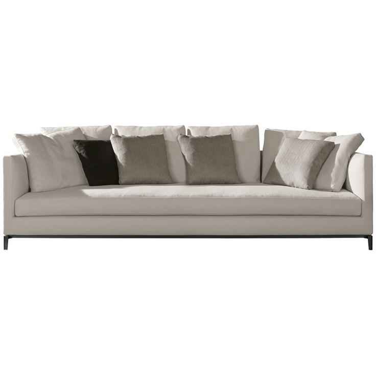 sofa andersen slim von minotti. Black Bedroom Furniture Sets. Home Design Ideas