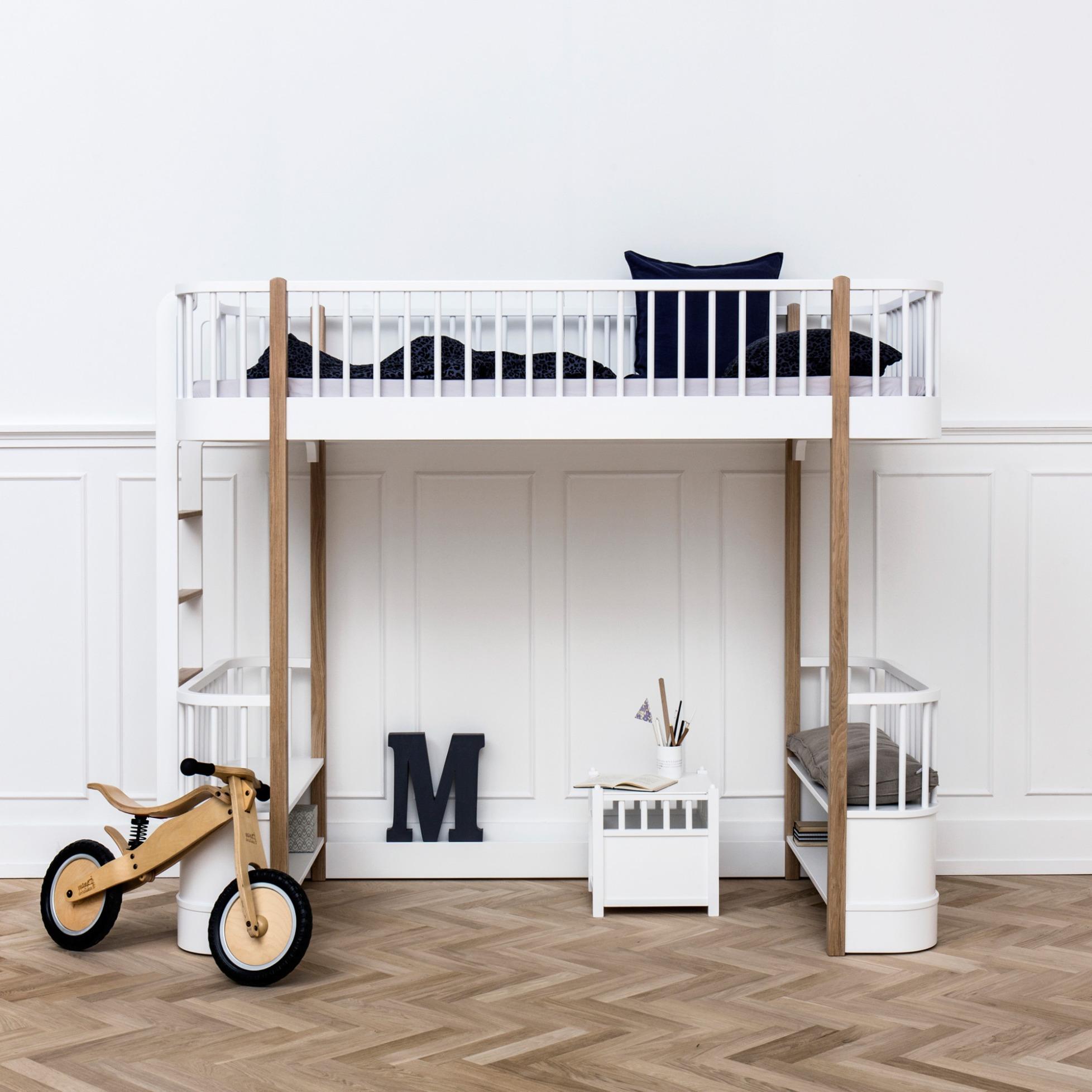 wood loft bed by oliver furniture - Oliver Furniture Hochbett