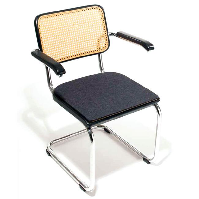 sitzkissen sfc 027 f r thonet freischwinger s 32. Black Bedroom Furniture Sets. Home Design Ideas