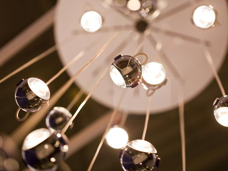 falling star suspension pendant light by tobias grau. Black Bedroom Furniture Sets. Home Design Ideas
