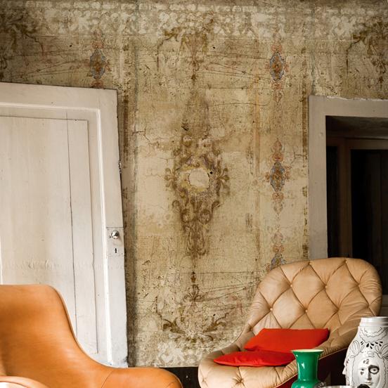 tapete borgia von wall deco. Black Bedroom Furniture Sets. Home Design Ideas