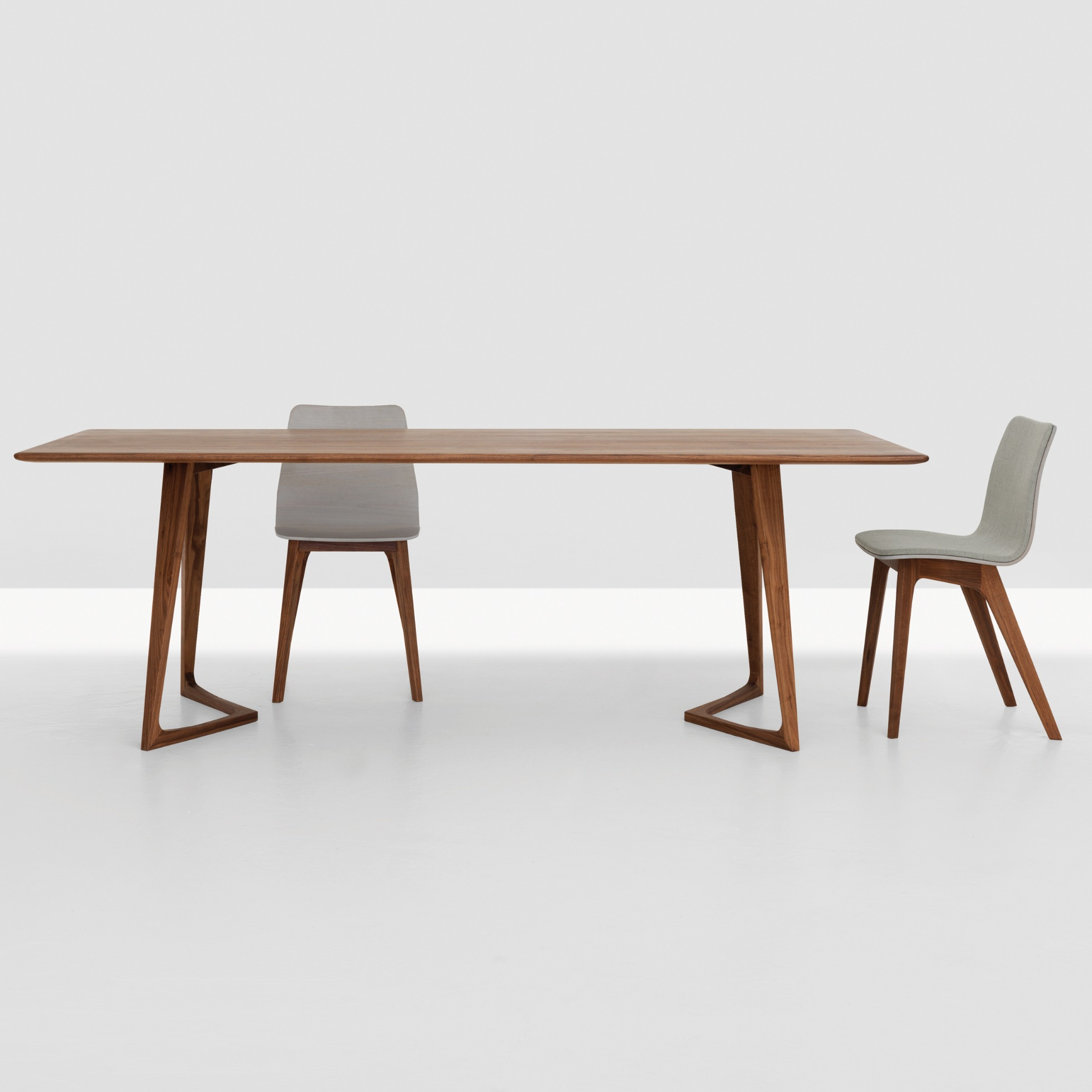 tisch twist rectangular von zeitraum m bel. Black Bedroom Furniture Sets. Home Design Ideas