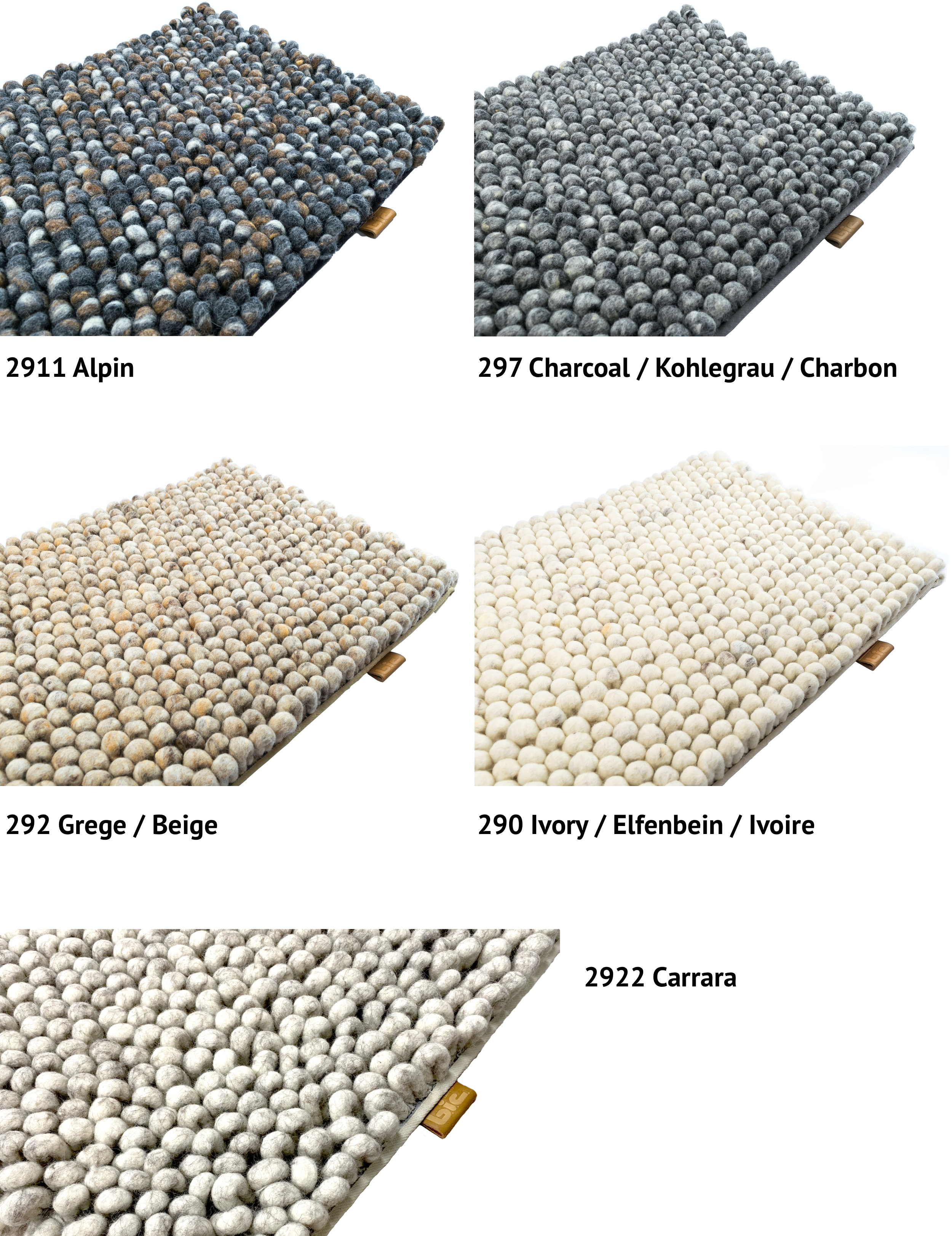 Stone by b.i.c. carpets