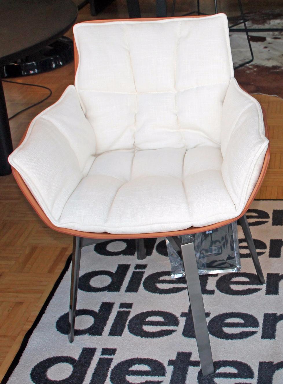 chair husk by b b italia. Black Bedroom Furniture Sets. Home Design Ideas
