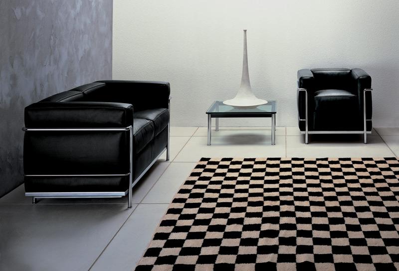 sessel lc2 von cassina. Black Bedroom Furniture Sets. Home Design Ideas