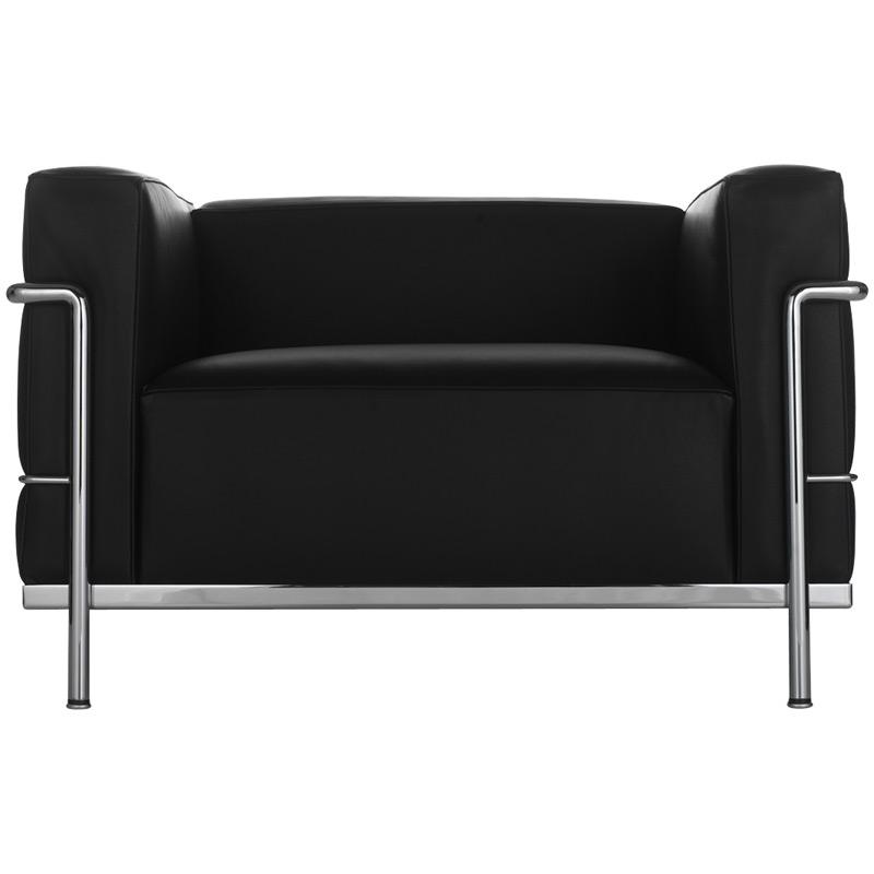 sessel lc3 von cassina. Black Bedroom Furniture Sets. Home Design Ideas