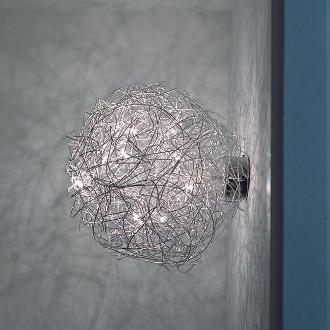 fil de fer wall ceiling light by catellani smith. Black Bedroom Furniture Sets. Home Design Ideas