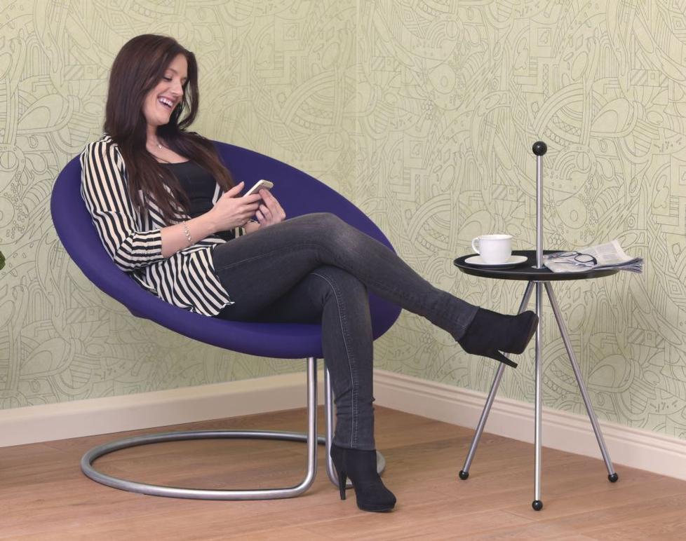 stuhl swing von d tec. Black Bedroom Furniture Sets. Home Design Ideas