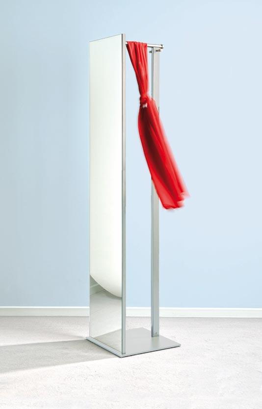 top tsr 33 standspiegel mit garderobe von d tec. Black Bedroom Furniture Sets. Home Design Ideas