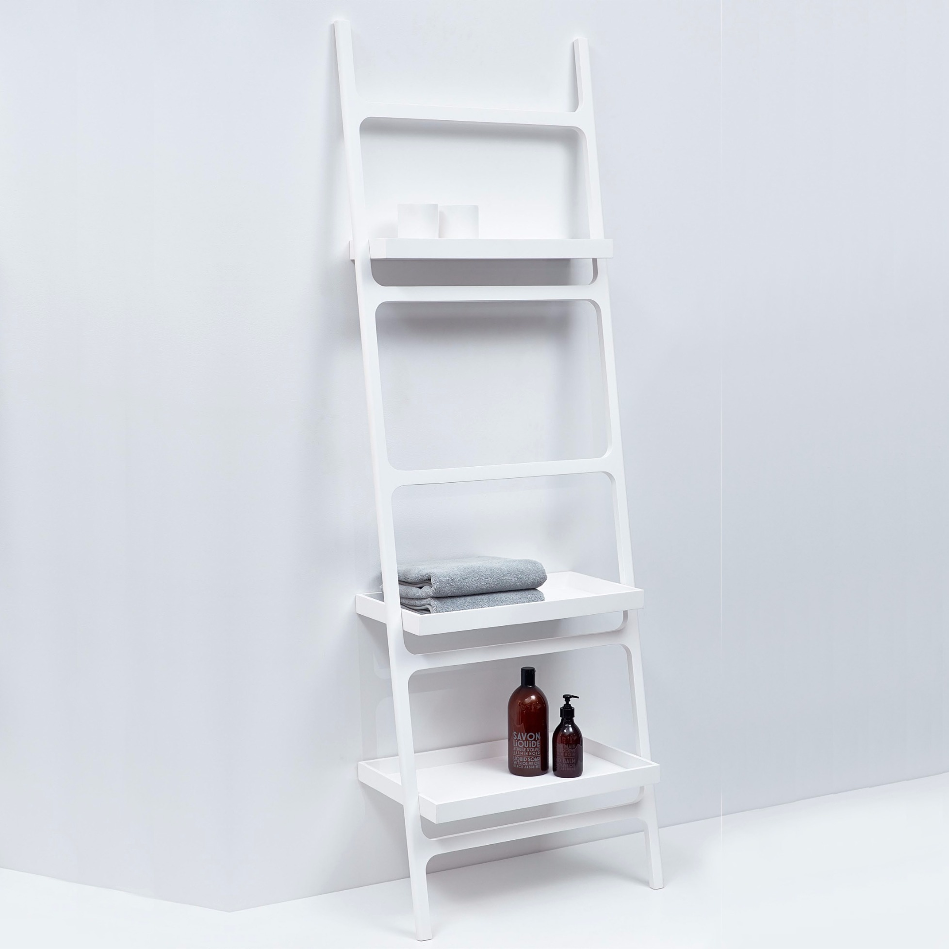 towel ladder stone htla by decor walther. Black Bedroom Furniture Sets. Home Design Ideas