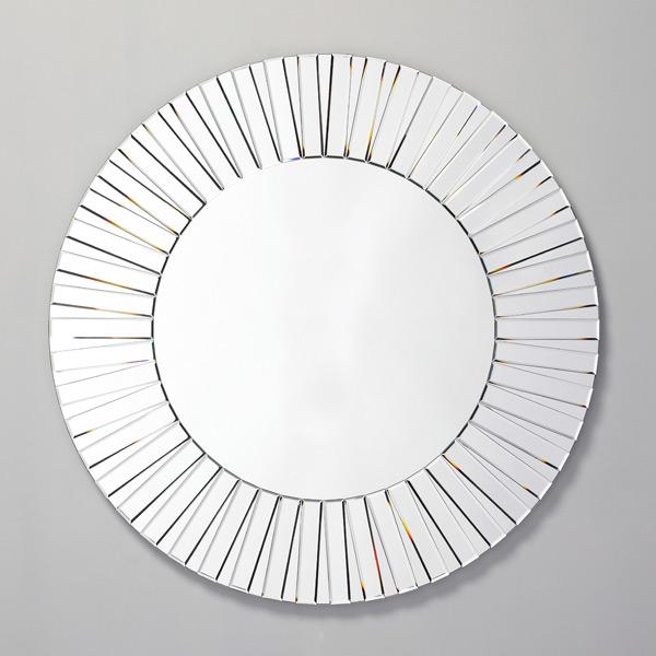 sunny runder wandspiegel von deknudt mirrors. Black Bedroom Furniture Sets. Home Design Ideas
