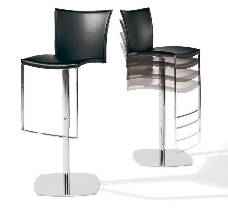 bar stool nobile soft 2079 by draenert. Black Bedroom Furniture Sets. Home Design Ideas