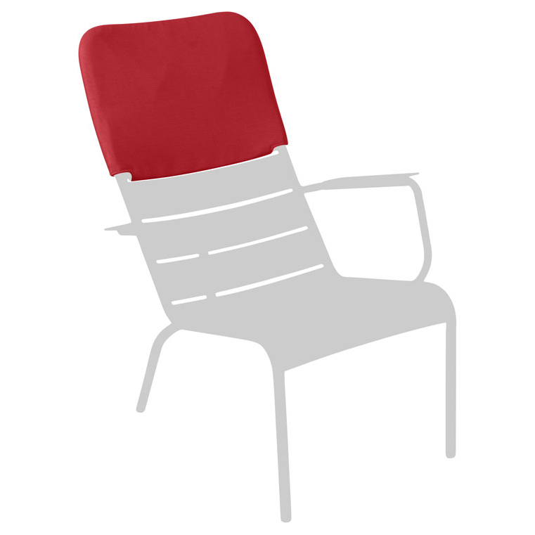 Headrest for luxembourg low chair by fermob - Fermob chaise luxembourg ...