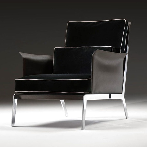 sessel happy hour von flexform. Black Bedroom Furniture Sets. Home Design Ideas