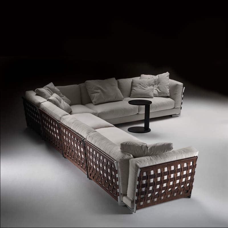 sofa series cestone by flexform