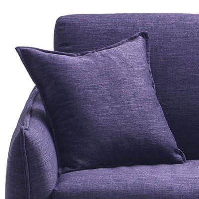 sofa cushion fast by franz fertig. Black Bedroom Furniture Sets. Home Design Ideas