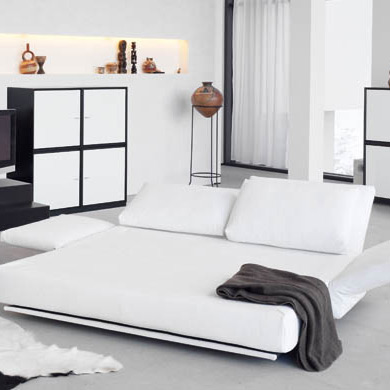 sofa bed giorgio by franz fertig. Black Bedroom Furniture Sets. Home Design Ideas