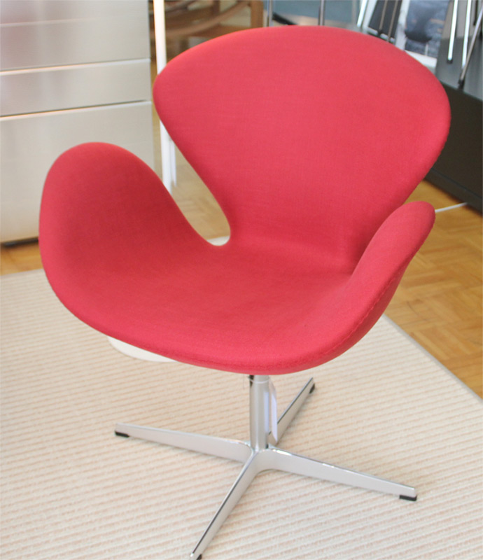 armchair swan by fritz hansen dieter horn. Black Bedroom Furniture Sets. Home Design Ideas
