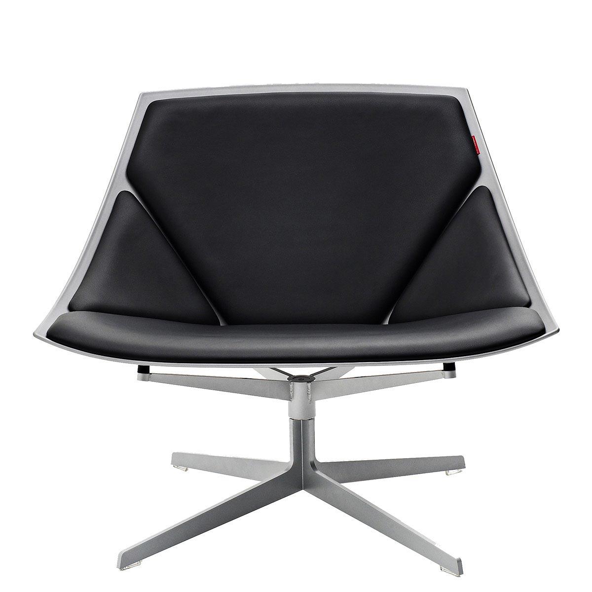 loungesessel space von fritz hansen. Black Bedroom Furniture Sets. Home Design Ideas