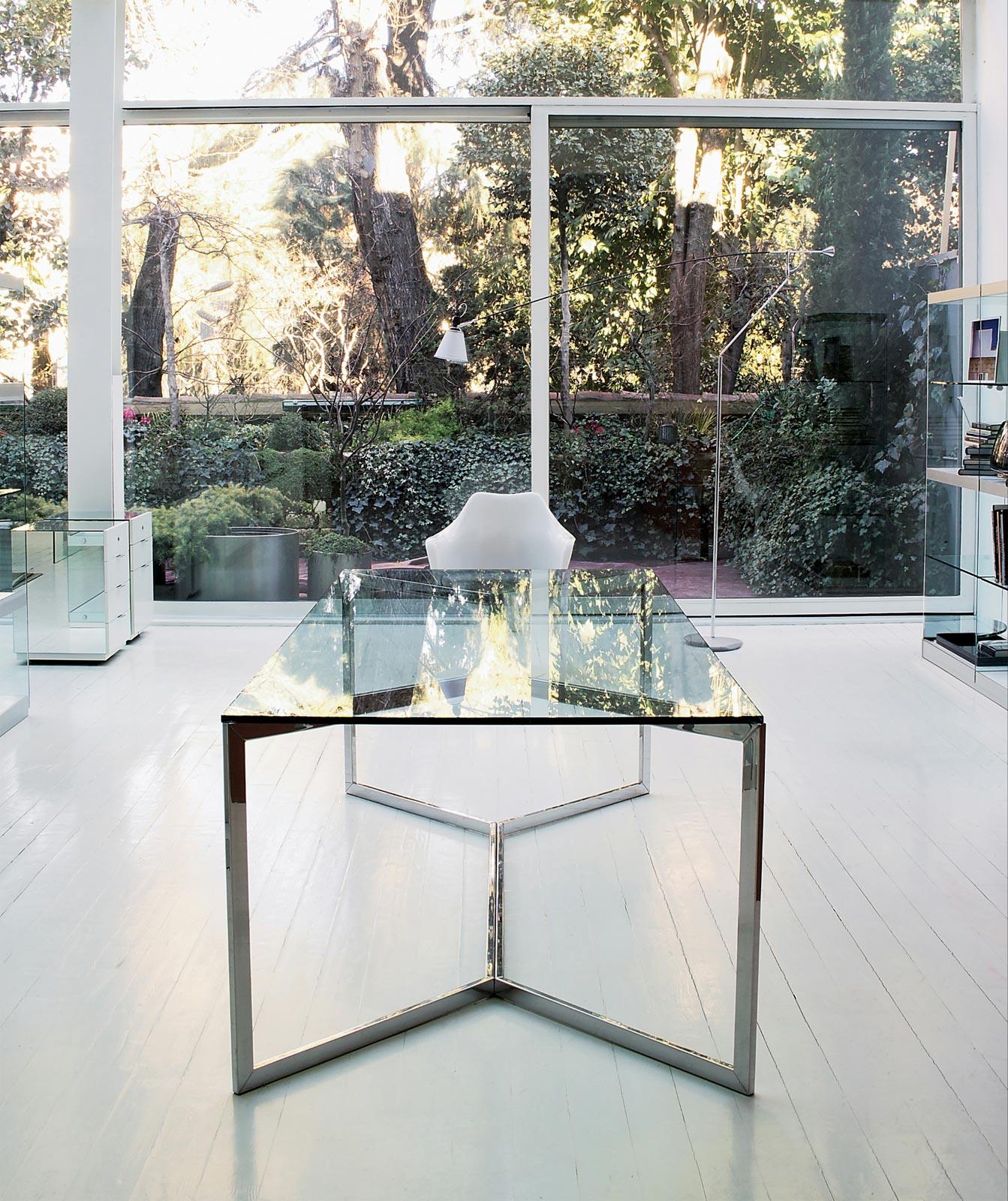 Glastisch carlo magno von gallotti radice for Designer glastisch esstisch