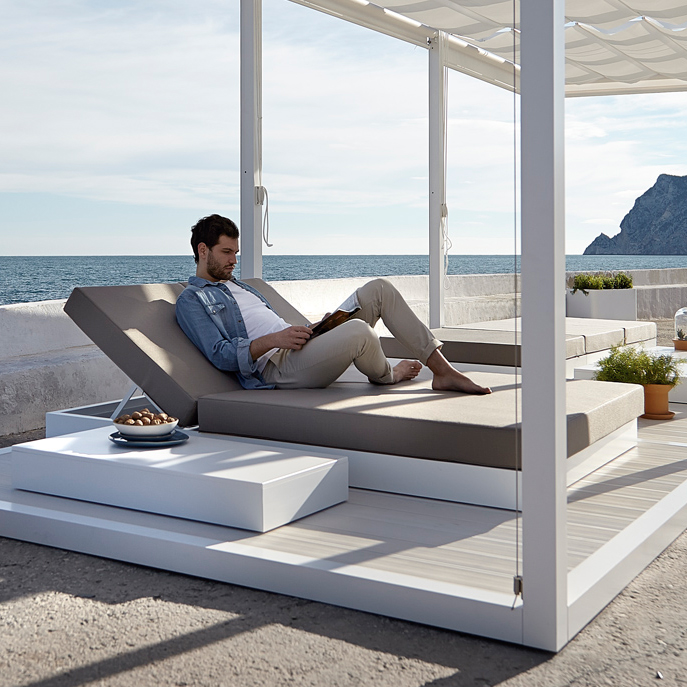 gartenliege daybed chill von gandia blasco. Black Bedroom Furniture Sets. Home Design Ideas
