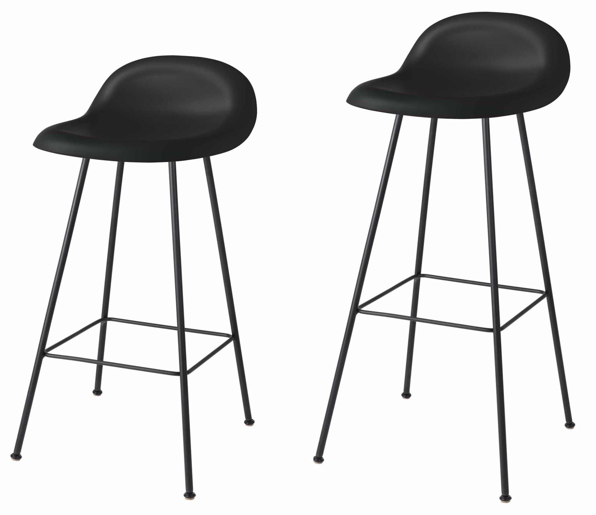 Bar stool gubi 3d center base hirek for Barhocker 3d model