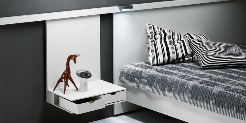 bed nocto plus by interl bke. Black Bedroom Furniture Sets. Home Design Ideas